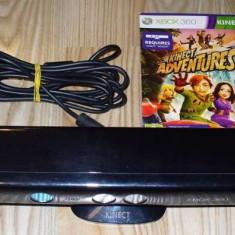 Senzor Kinect pentru Xbox 360 Microsoft + Kinect Adventures