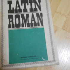 GH. GUTU--DICTIONAR LATIN - ROMAN