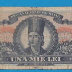 1000 lei 1948 7 - Bancnota romaneasca