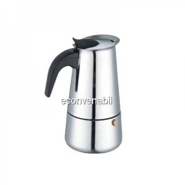 Expresor cafea manual pentru aragaz 6 cesti Bohmann BH9506 foto mare