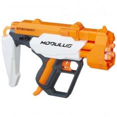 Pistol jucarie Blaster Nerf Modulus, Stockshot - Pistol de jucarie Hasbro