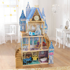 Casuta pentru papusi Castelul Disney Princess Cinderella Royal Dream KidKraft