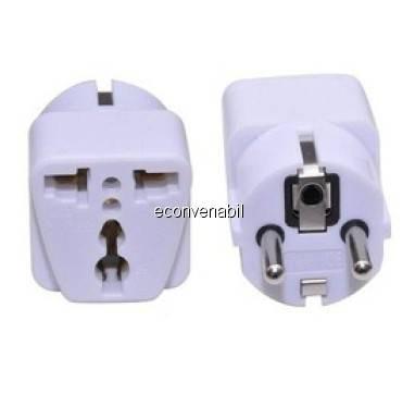 Adaptor Priza Universal China / UK / SUA - Europa, cu 3 Pini foto