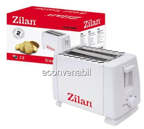 Toaster Prajitor de Paine 2 Felii Zilan ZLN7604 foto mare