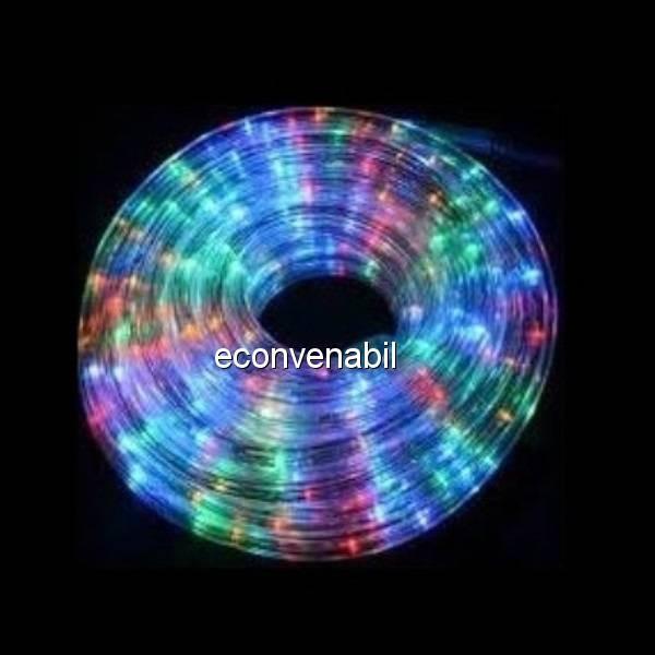 Furtun Luminos Banda 6000 LEDuri Multicolore Rola 100m CLTO foto mare