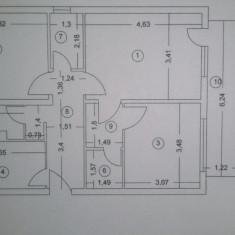 Apartament 3 camere 65.89mp - Apartament de vanzare, Numar camere: 3, An constructie: 1988, Parter