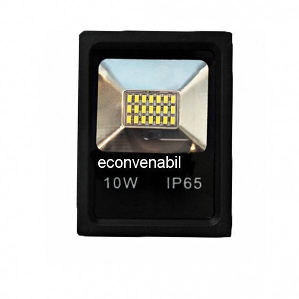 Proiector 21LED 10W Alb Rece IP65 12V foto mare