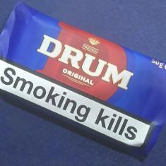 Tutun Drum Original --tutun Bucuresti-tutun pentru rulat/injectat---plic 50 gr.