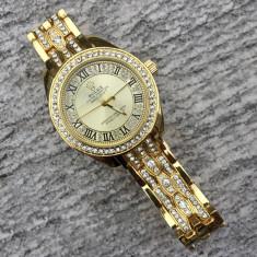Ceas Dama Rolex DateJust Gold ! Cea Mai Buna Calitate ! Cutie Cadou !, Quartz