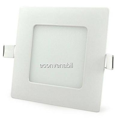 Spot Incastrabil Patrat LED 6W Alb Rece foto