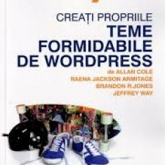 Alan cole creati propriile teme foremidabile de wordpress - Carte webdesign