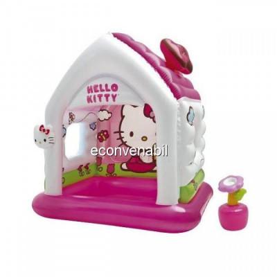 Casuta Gonflabila de Joaca Intex 48631 Hello Kitty foto