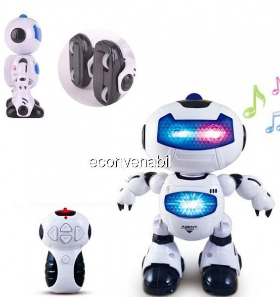 Robot de Jucarie cu Telecomanda Canta si Danseaza Cool Robot HLT0068 foto mare