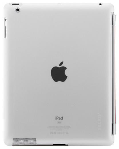 Husa plastic Belkin Snap Shield transparent pentru Apple iPad 2 foto mare