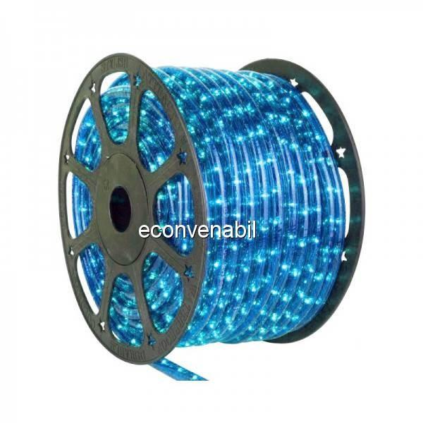 Furtun Luminos 100m 2600 LEDuri Albastre CL foto mare
