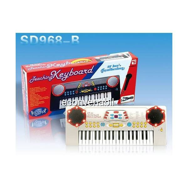 Orga Copii 37 Clape Teaching Keyboard SD968B foto mare
