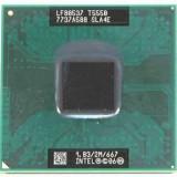 Procesor Laptop Intel Core2Duo T5550 1830Mhz/2M Cache/ FSB 667, 1500- 2000 MHz, Numar nuclee: 2