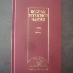 B. P. HAȘDEU - URSITA * MICUȚA