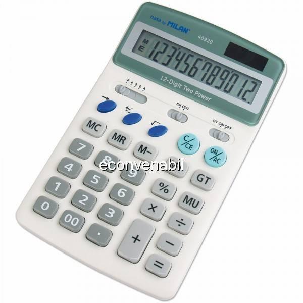 Calculator de Birou Milan 40920 12 Caractere foto mare