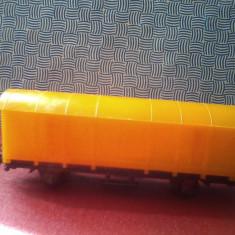 Bnk jc Romania - 9 Mai Lugoj - Vagon marfa - Macheta Feroviara Alta, HO, Vagoane