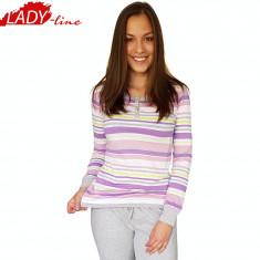 Pijama Dama Maneca/Pantalon Lung, Brand Sergio Tacchini, Bumbac 100%, Cod 1239
