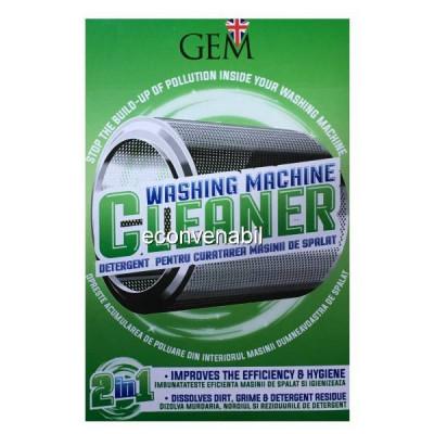 GEM Detergent pentru Curatarea Masinii de Spalat Rufe 2in1 2x125g foto
