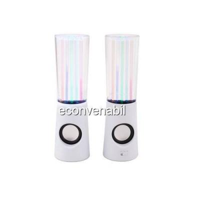 Boxe cu Apa Dancing Water Speakers 2x5 LEDuri foto
