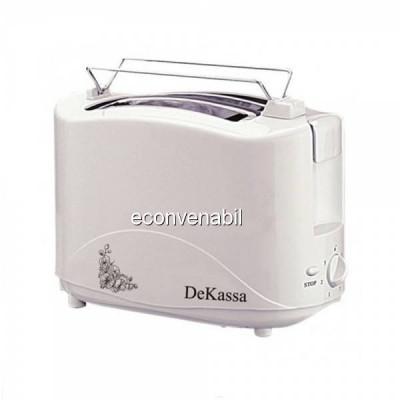 Toaster Prajitor de paine cu 2 felii DeKassa DK1517 foto