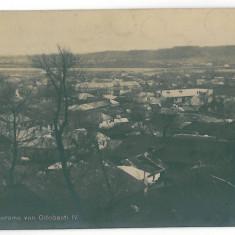 3888 - Vrancea, ODOBESTI, Panorama - old postcard, real PHOTO - used - 1917 - Carte Postala Moldova 1904-1918, Circulata, Printata