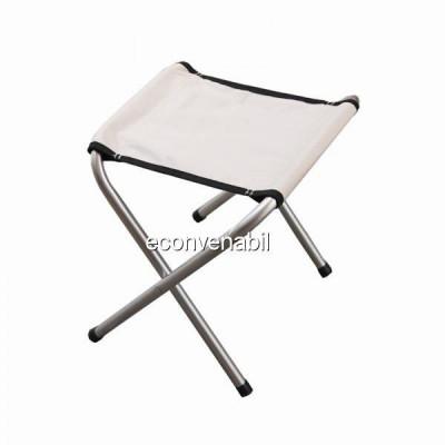 Scaun pliabil cu Structura Metalica si Sezut din Material Textil foto