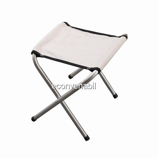 Scaun pliabil cu Structura Metalica si Sezut din Material Textil foto mare