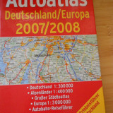 ATLAS AUTO GERMANIA - EUROPA - Carte Geografie