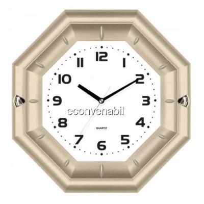 Ceas de perete in forma de Octagon KLJ7127 foto