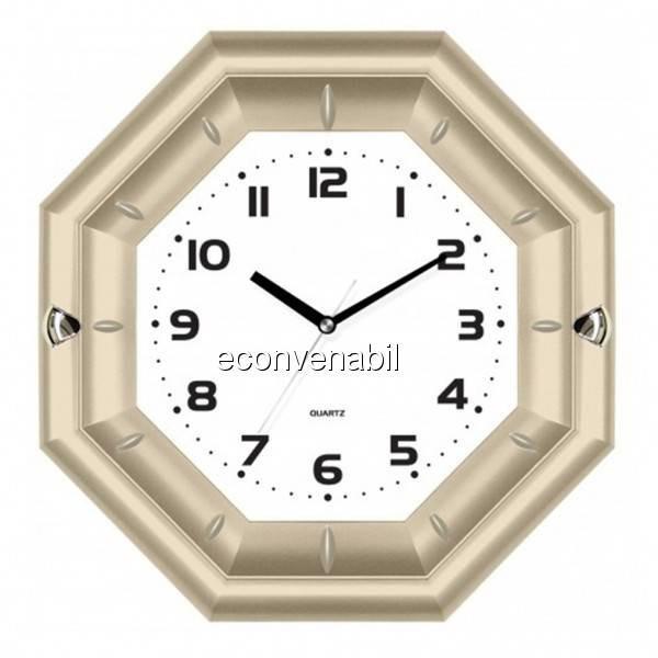 Ceas de perete in forma de Octagon KLJ7127 foto mare