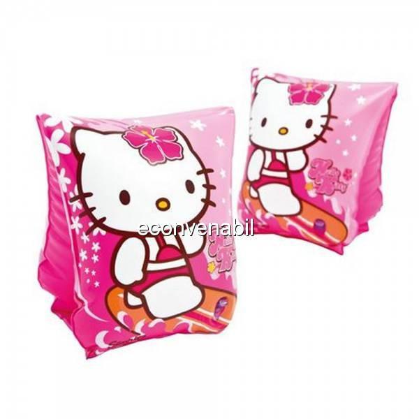 Aripioare Inot pentru copii Hello Kitty Intex 56666EU foto mare