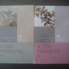 HONORE DE BALZAC - ILUZII PIERDUTE (VOL. I ȘI II) - Roman
