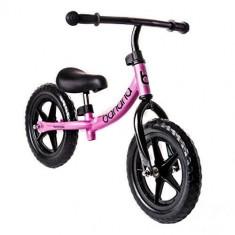 Bicicleta Banana fara pedale roz - Bicicleta copii
