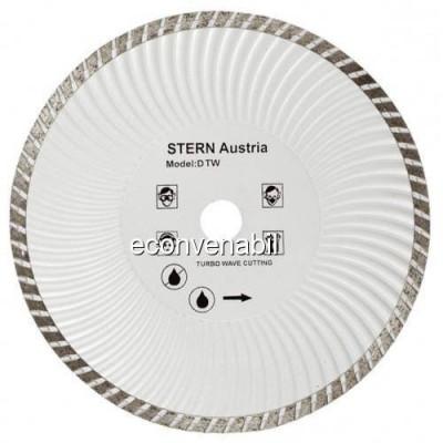 Disc Diamantat Turbo 180mm Pentru Polizor Unghiular Stern D180TW foto