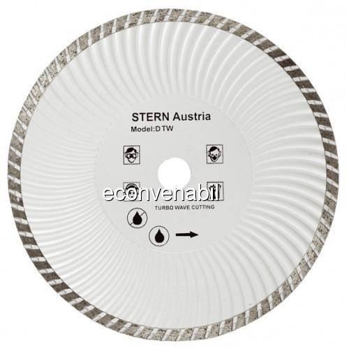 Disc Diamantat Turbo 180mm Pentru Polizor Unghiular Stern D180TW foto mare