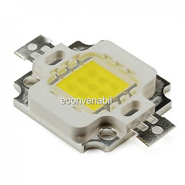 Modul COB LED 10W Alb Rece pentru Proiector LED foto mare