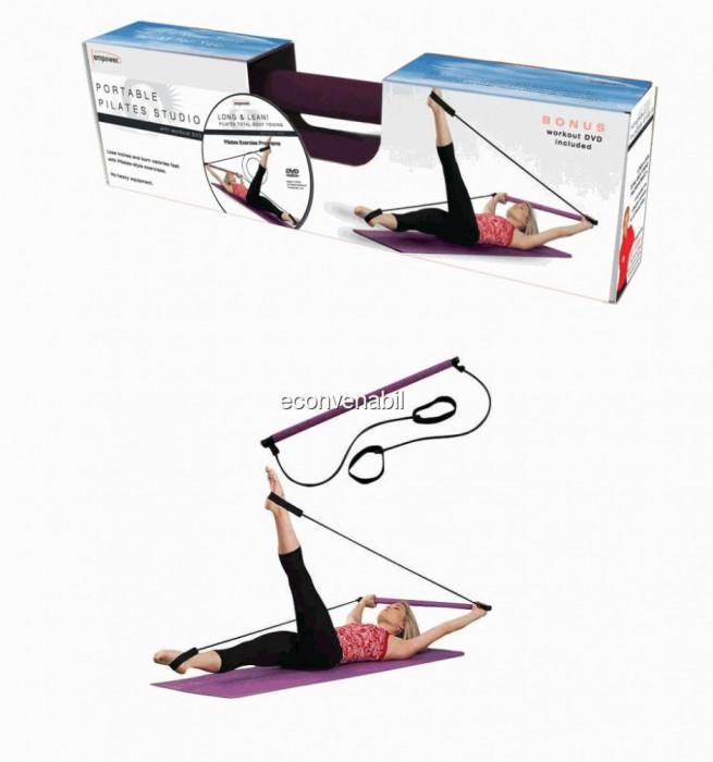 Aparat portabil pentru gimnastica pilates studio foto mare