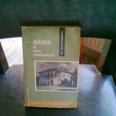 BANIA IN TARA ROMANEASCA - ST. STEFANESCU