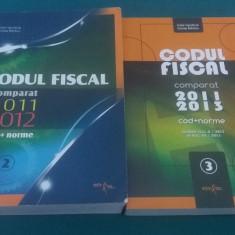 CODUL FISCAL COMPARAT 2011 2012*2011-2013/COD +NORME/ NICOLAE MÂNDOIU/ 2 VOL.