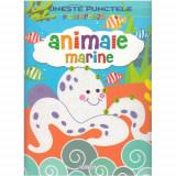 Activitati - Uneste Punctele - Animale Marine - Carte de colorat
