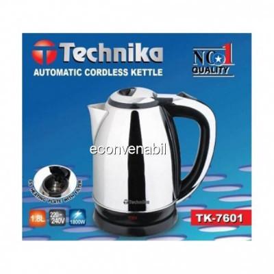 Cana fierbator 1.8L 1800W Technika TK7601 foto