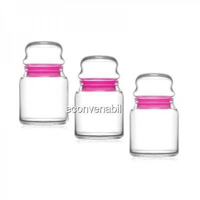 Set 48 borcane sticla cu capac ermetic Sera SER 82 290ml foto