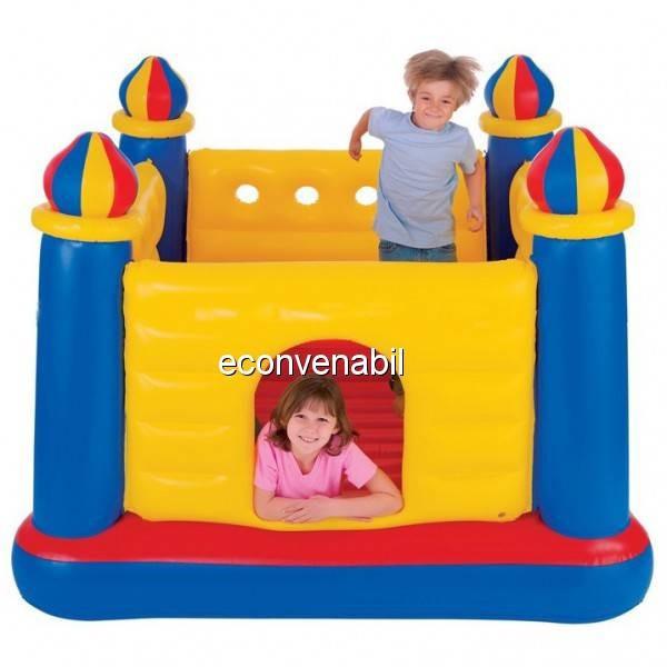 Trambulina Gonflabila Jump-o-Lene Castle Bouncer Intex 48259 foto mare