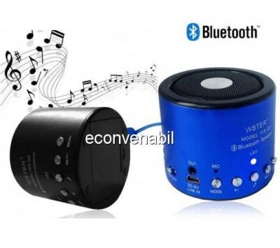 Mini Boxa Bluetooth cu Radio si MP3 pentru Telefoane Mobile WSQ9 foto