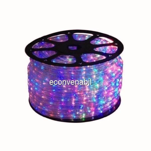 Furtun Luminos 100m 2300 LEDuri Multicolore foto mare