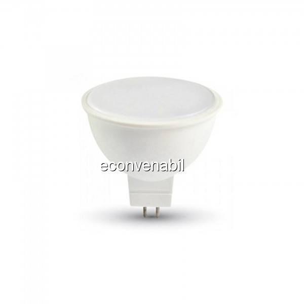 Bec LED 5W Alb Rece 6400K Soclu GU5.3 220V UB60043 foto mare